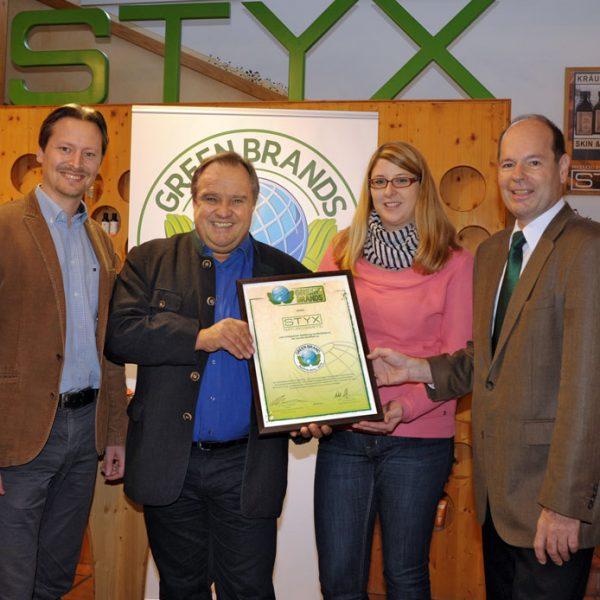 STYX GB Aut Zertifikatsüber