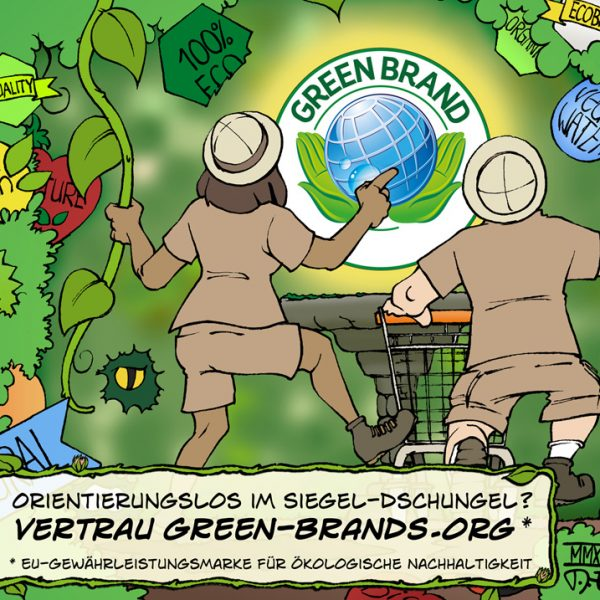 GREEN BRANDS Cartoon 2